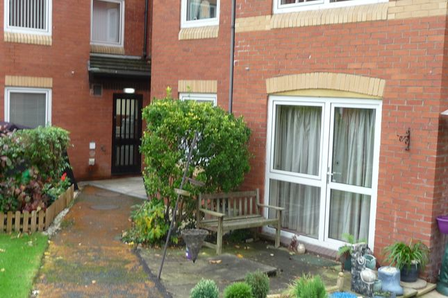 Rear Patio of Liege House, Manorside Close, Upton CH49