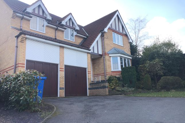 Thumbnail Detached house to rent in Eskdale Close, Mansfield