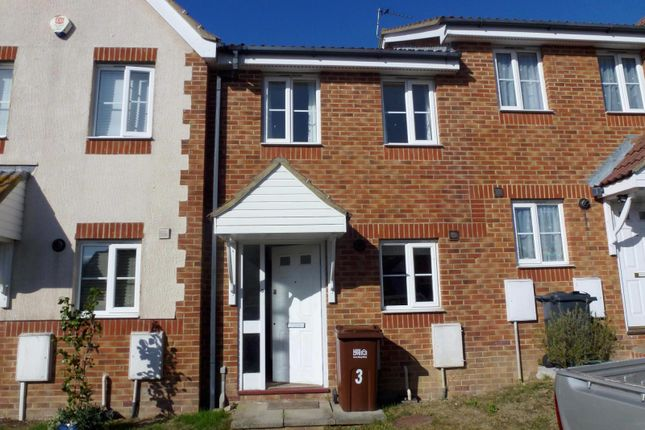 Thumbnail Terraced house to rent in Ditchling Close, Eastbourne