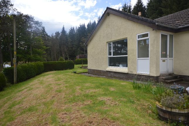 Thumbnail Detached house to rent in Kype Dam Lodge, Strathaven, South Lanarkshire