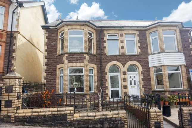 Thumbnail Semi-detached house for sale in Ton Mawr Avenue, Blaenavon, Pontypool