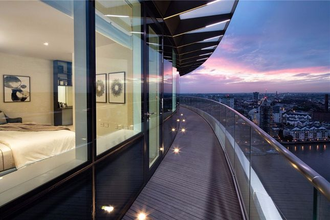 Thumbnail Flat for sale in Lombard Wharf, 12 Lombard Road, London