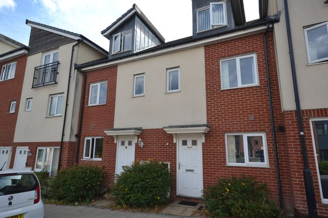 Thumbnail Town house to rent in Kiln View, Hanley, Stoke-On-Trent