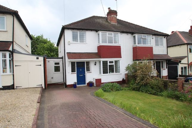 3 bed semi-detached house for sale in Tennal Grove, Harborne, Birmingham