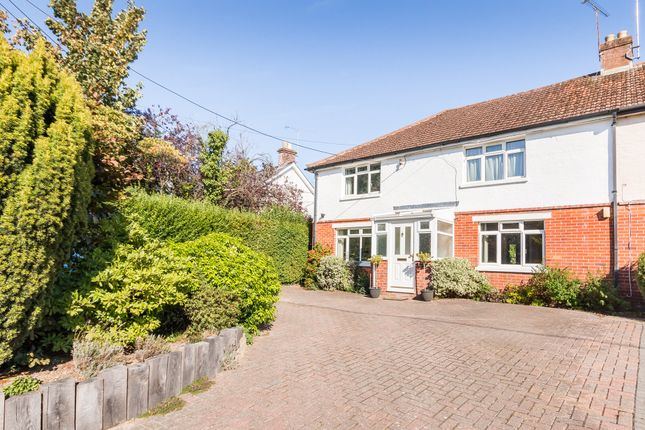 Thumbnail Semi-detached house for sale in Crow, Ringwood, Hampshire