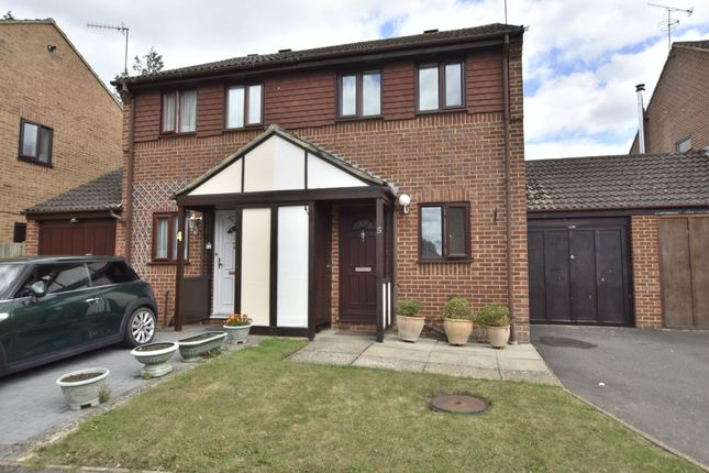 Thumbnail Semi-detached house for sale in Geary Close, Smallfield, Horley, Surrey