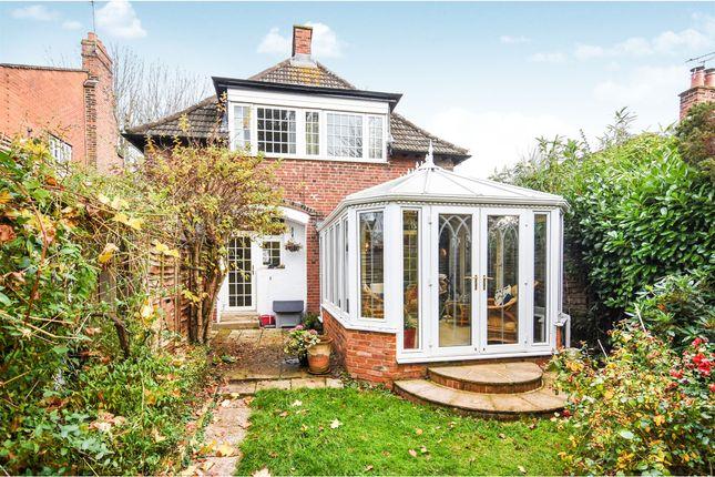 Thumbnail Detached house for sale in Crossways, Gidea Park, Romford