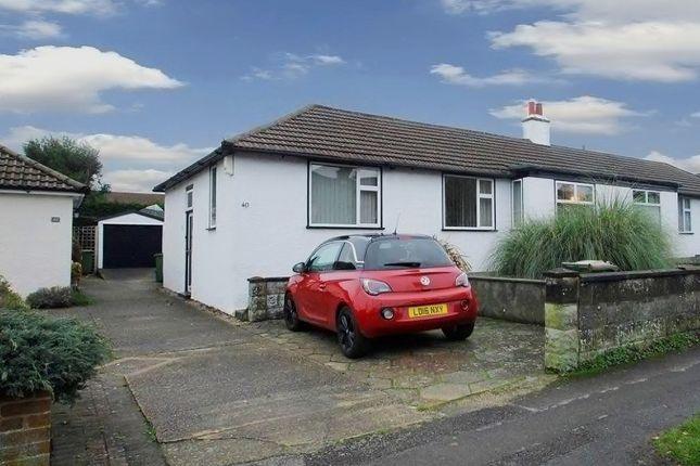 Thumbnail Semi-detached bungalow for sale in Avenue Road, Belmont, Sutton, Surrey