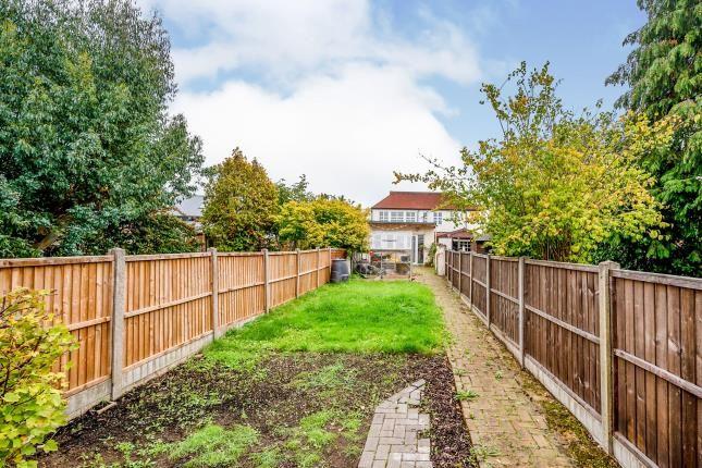 Garden of Mount Road, Chessington KT9