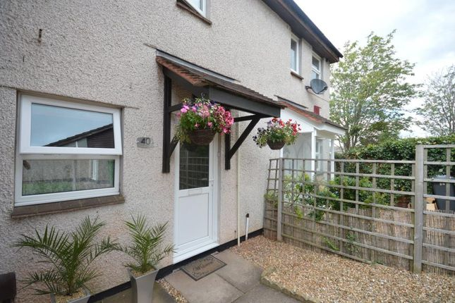 Thumbnail Terraced house for sale in Ashleigh, Alphington, Exeter, Devon