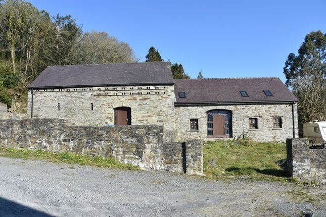 Thumbnail Barn conversion for sale in Ponthirwaun, Cardigan