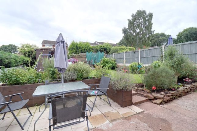 Rear Garden of Ferncombe Drive, Rugeley WS15