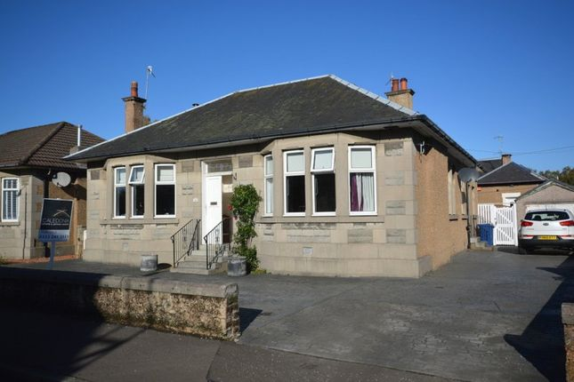 Thumbnail Detached bungalow for sale in Gibson Street, Dumbarton