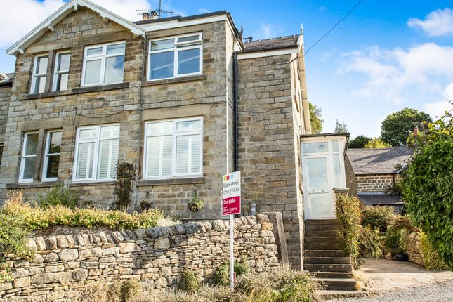 Thumbnail End terrace house for sale in Bar Road, Baslow, Bakewell