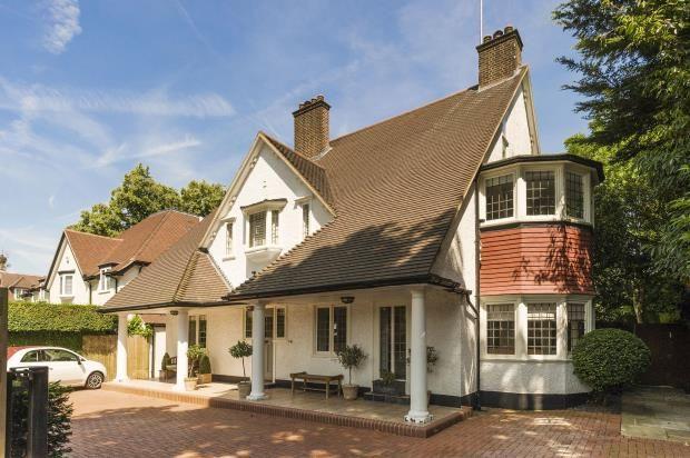 Thumbnail Detached house for sale in West Heath Avenue, Golders Hill Park, London