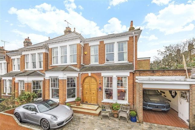 Thumbnail End terrace house for sale in Woodland Rise, Muswell Hill, London