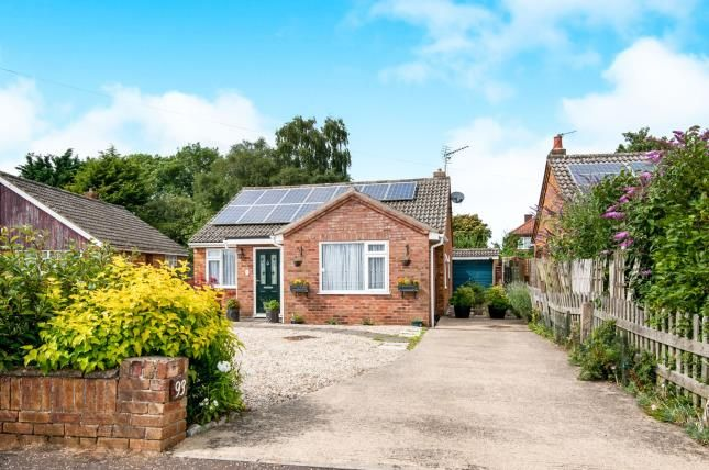 Thumbnail Bungalow for sale in Toftwood, Dereham, Norfolk