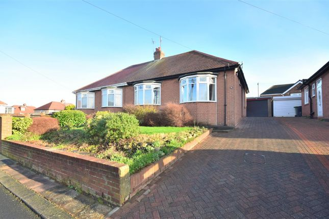 Thumbnail Semi-detached bungalow for sale in Brentwood Gardens, Tunstall, Sunderland