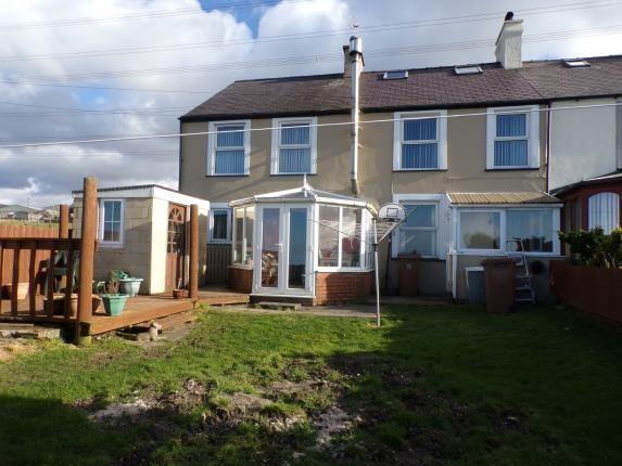 Thumbnail End terrace house for sale in Green Bank, Groeslon, Caernarfon