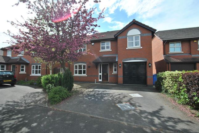 Thumbnail Detached house to rent in Hatchery Close, Appleton Thorn, Warrington