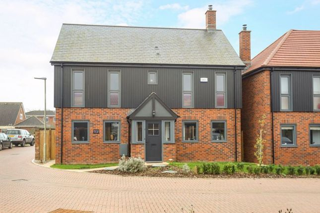 Thumbnail Detached house for sale in Newark Court, Ladywell Close, Hempsted, Gloucester