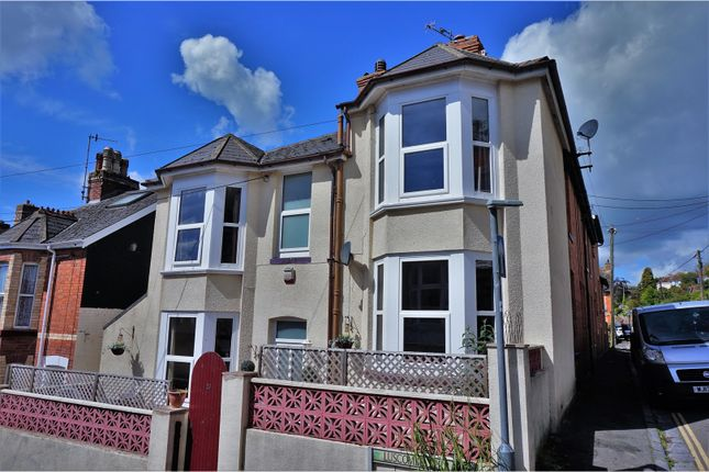 Thumbnail End terrace house for sale in Luscombe Terrace, Dawlish