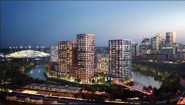 Thumbnail Flat for sale in Montague Building, City Island, London