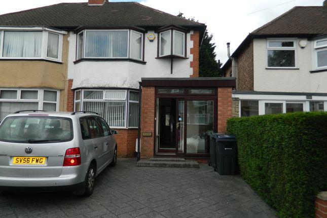 Thumbnail Semi-detached house to rent in Steyning, Yardley, Birmingham