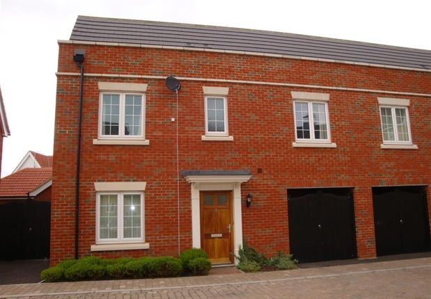 Thumbnail Semi-detached house to rent in Tayberry Close, Red Lodge, Bury St. Edmunds
