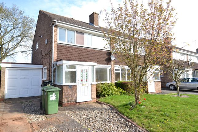 Thumbnail Semi-detached house to rent in Eyton Close, Redditch