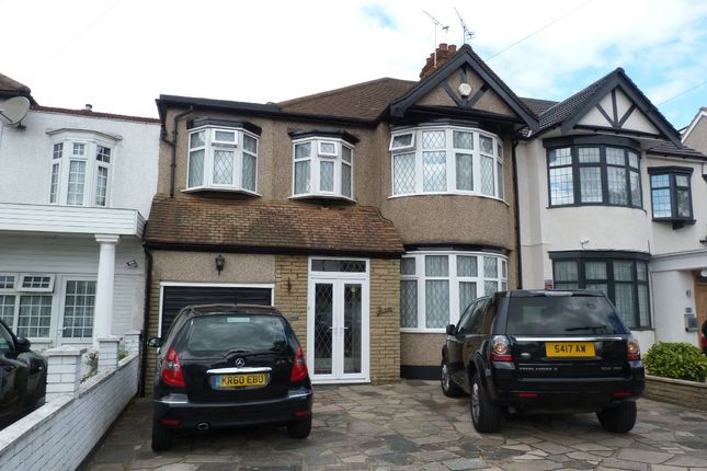 Thumbnail Terraced house for sale in Stradbroke Grove, Clayhall