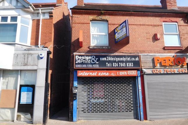 Thumbnail Retail premises to let in Ground Floor Only, 187, Walsgrave Road, Coventry