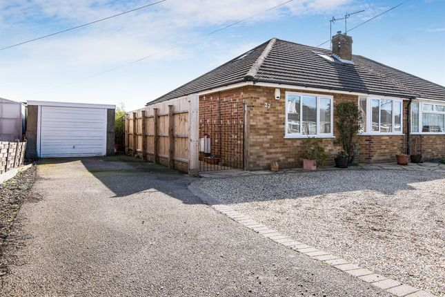 Thumbnail Semi-detached bungalow for sale in Varvel Avenue, Sprowston, Norwich