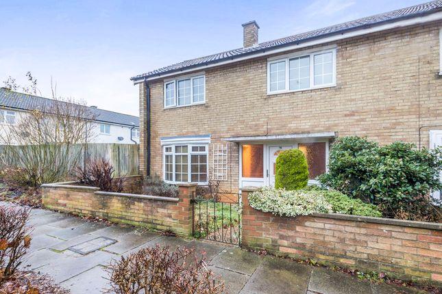 Thumbnail End terrace house for sale in Longfields, Stevenage
