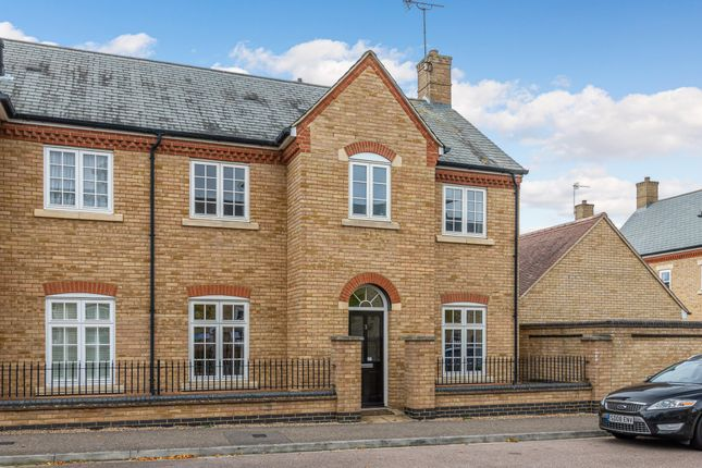 Thumbnail Semi-detached house for sale in Nickleby Way, Fairfield, Herts