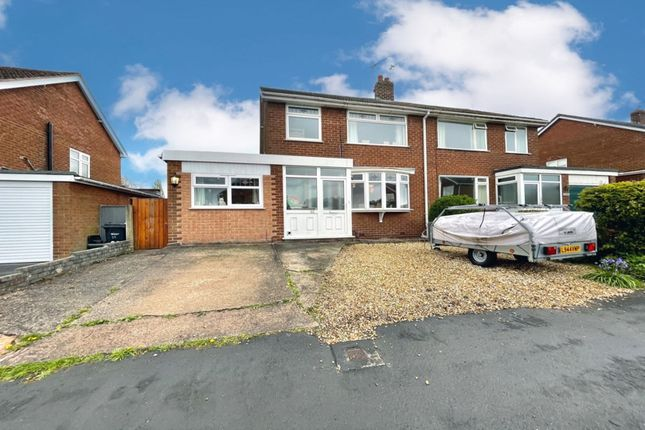 3 bed semi-detached house for sale in Elmwood Road, Northwich CW8