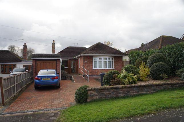 Thumbnail Detached bungalow for sale in Rectory Lane, Thurcaston, Leicester