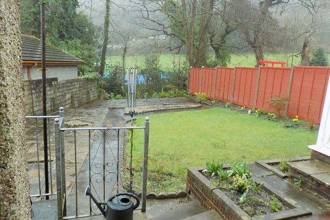 Outside Garden of Bryncatwg, Cadoxton, Neath, Neath Port Talbot. SA10