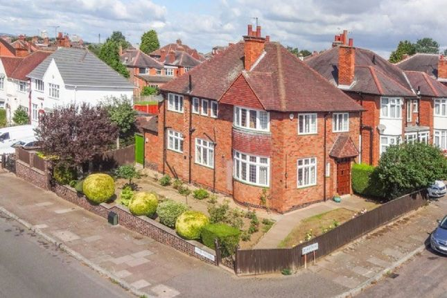 Thumbnail Detached house for sale in Kingsway Road, Evington, Leicester