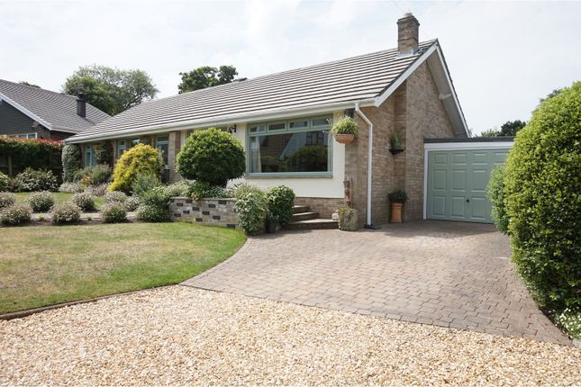 Thumbnail Detached bungalow for sale in Spencer Close, Ryde
