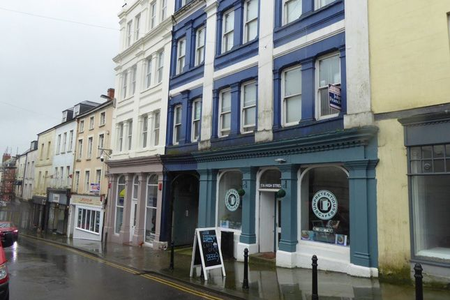 Thumbnail Flat to rent in High Street, Haverfordwest, Pembrokeshire