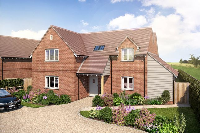Thumbnail Detached house for sale in Fincham View, Rye Common, Odiham, Hook, Hampshire