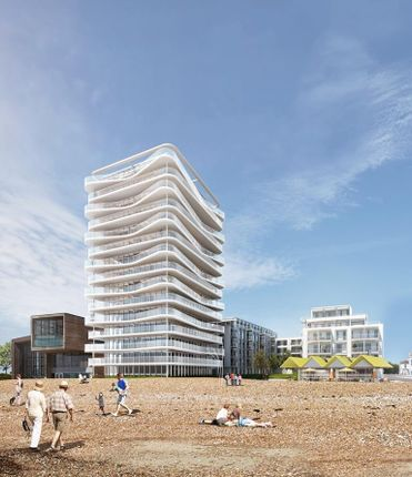 Thumbnail Flat for sale in Brighton Road, Worthing