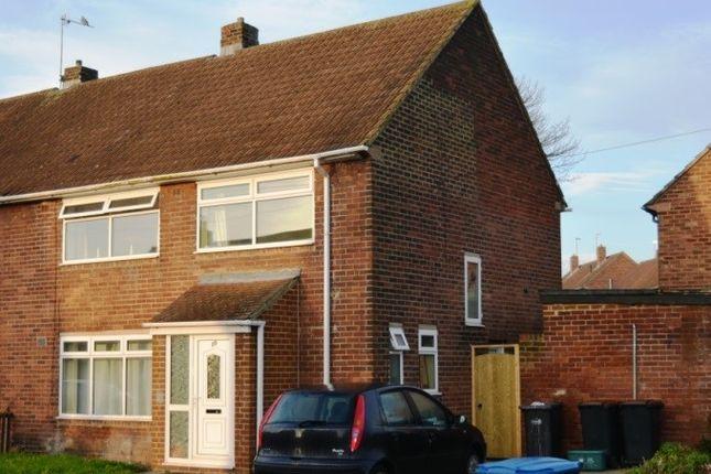 Thumbnail Semi-detached house to rent in Newton Drive, Framwellgate Moor, Durham