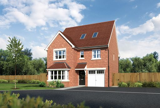 "Thumbnail Detached house for sale in ""Longford"" At Sherbourne Avenue, Chester CH4, Chester,"