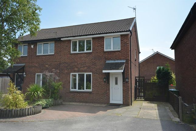 Thumbnail 3 bed semi-detached house for sale in Repton Close, Linacre Woods, Chesterfield