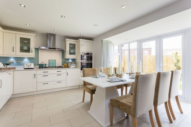 """Thumbnail Detached house for sale in """"Exeter"""" at Rush Lane, Market Drayton"""