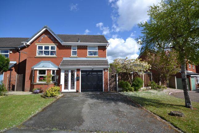 Thumbnail Detached house for sale in Farmleigh Gardens, Great Sankey, Warrington