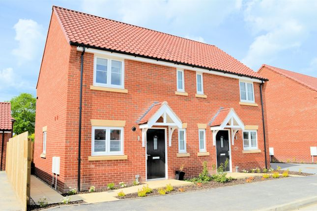 Thumbnail Semi-detached house for sale in Segrave Road, King's Lynn