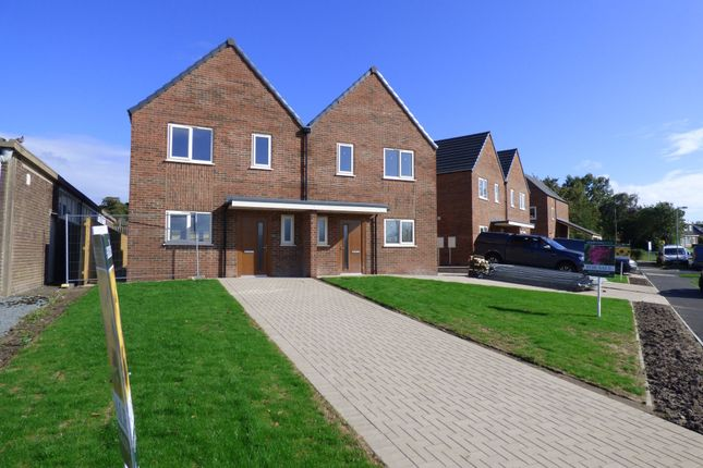 Thumbnail Semi-detached house for sale in Millbrook, Hersey Road, Caistor